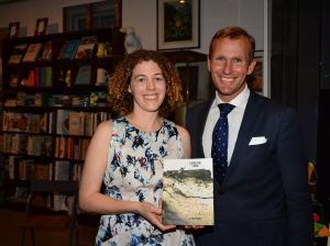 The author with the Hon Rob Stokes MP, NSW Minister for the Environment and Minister for Heritage, who launched the book