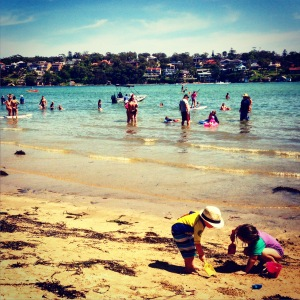 Typical beach 'gram: Darook Park, Cronulla